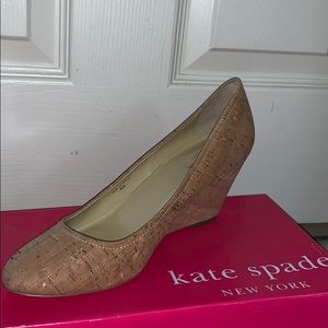 kate spade Shoes - KATE SPADE HALLE TOO WEDGES